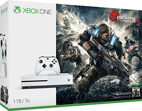 Xbox One S 1TB Gears of War 4 Bundle En VeoyCompro