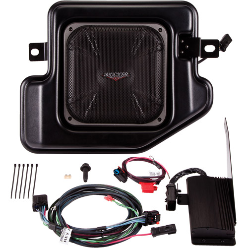 Kicker VSS Multi-Channel Amplifier and Powered Subwoofer Upgrade Kit for 2009-2012 Dodge Ram Crew/Quad Cabs
