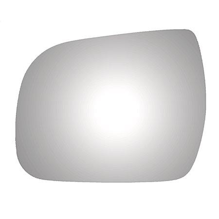 Toyota Sienna Door Mirror (For 2011-14 Toyota Sienna Left Driver Side Drop Fit Flat Door Mirror Glass Lens)