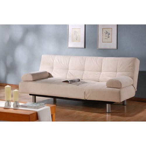 Atherton Home Manhattan Convertible Futon Sofa Bed And Lounger