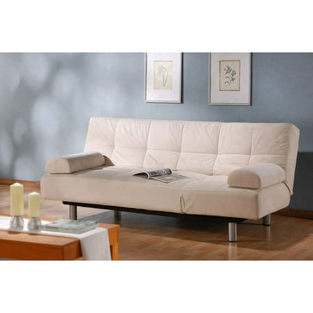 Upc 898672000028 Product Image For Atherton Home Manhattan Convertible Futon Sofa Bed And Lounger Pearl