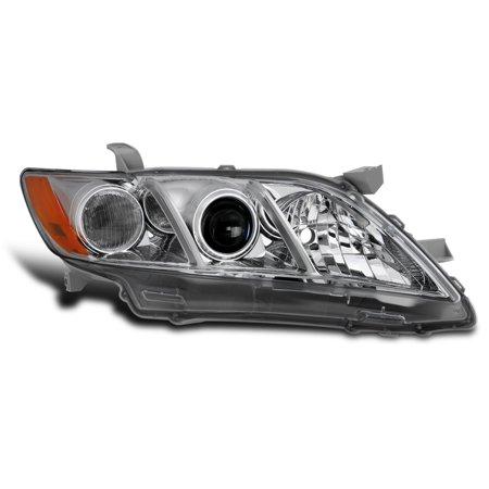 For 07-09 Toyota Camry LE/CE/Base/XLE Projector Chrome Headlight Passenger Right Camry Le Xle Headlamp Headlight