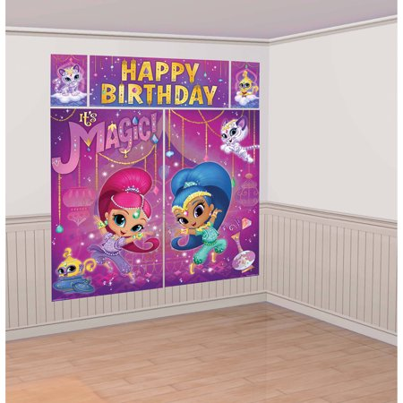Shimmer and Shine Scene - Halloween Wall Scene Setters