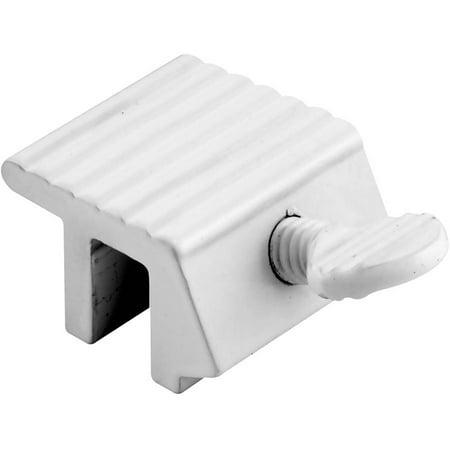 Prime Line U9802 White Sliding Window Lock