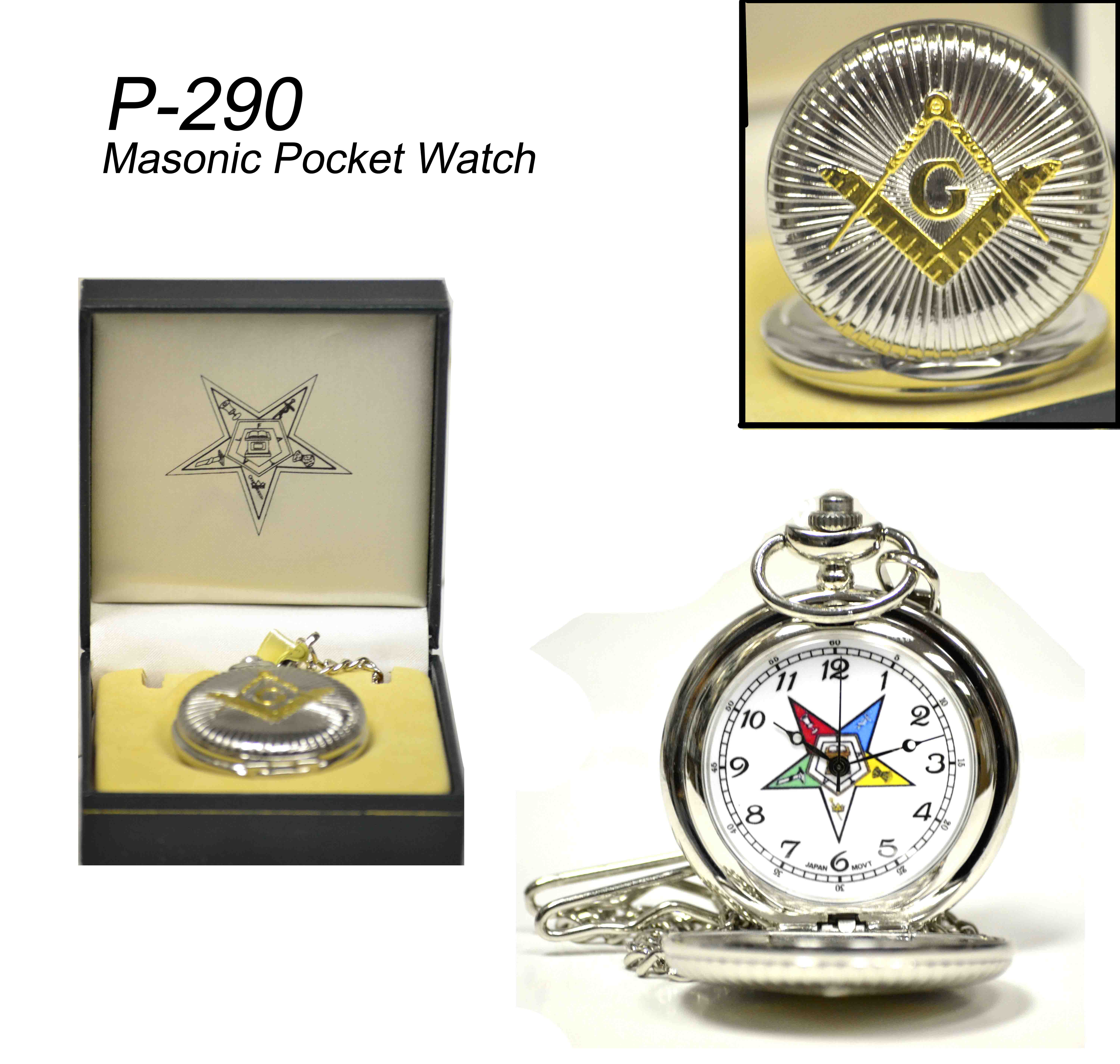 Ladies eastern Star Pocket watch