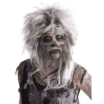 Adult Wild Zombie Halloween Costume Accessory Wig