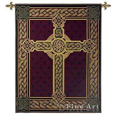 FineArtTapestries 3436-WH Celtic Wall Tapestry by Supplier Generic