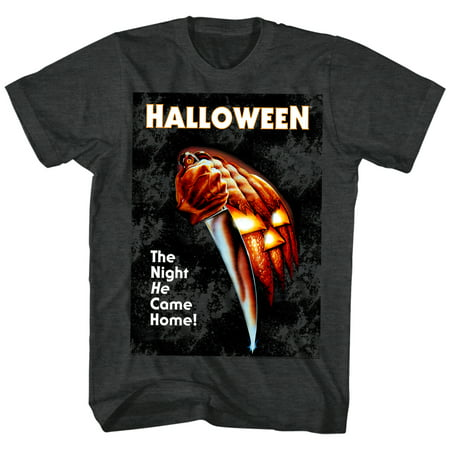 Halloween Movies The Night He Came Home Adult Short Sleeve T Shirt - Halloween The Night He Came Home Toy