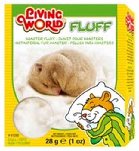 Lw Hamster Fluff, 1oz by Living World