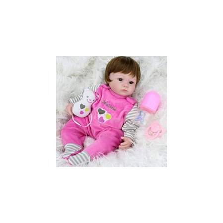 Baby Alive Clothes At Walmart Mesmerizing Reborn Baby Alive 60Inch Silicone Girl Doll Look Real Kids Playmate