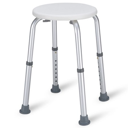 Adjustable Shower Stool (Costway 7 Height Adjustable Bath Shower Chair Medical Seat Stool Bath Tub)