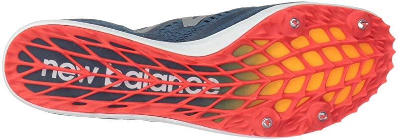 New Balance Men's LD5Kv5 Track Shoe, North Sea/Flame, 10 D US