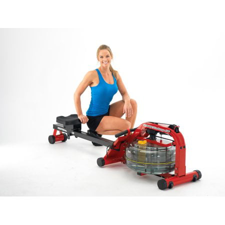 First Degree Fitness Newport - Indoor Fluid Rower with Adjustable (First Degree Fitness Challenge Ar Water Rowing Machine)