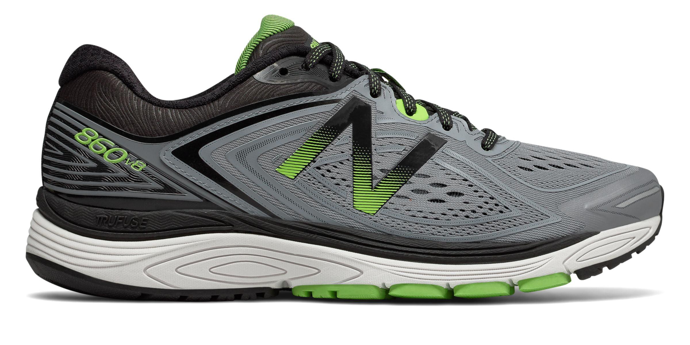 New Balance Men's 860v8 Shoes Grey