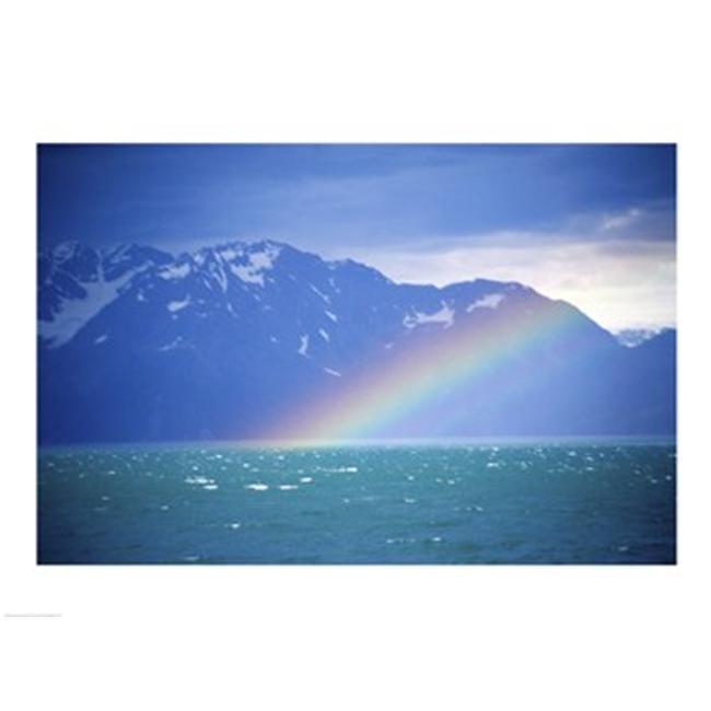 PVT/Superstock SAL20051714 Rainbow over a sea  Resurrection Bay  Kenai Fjords National Park  Alaska  USA -24 x 18- Poster Print - image 1 de 1
