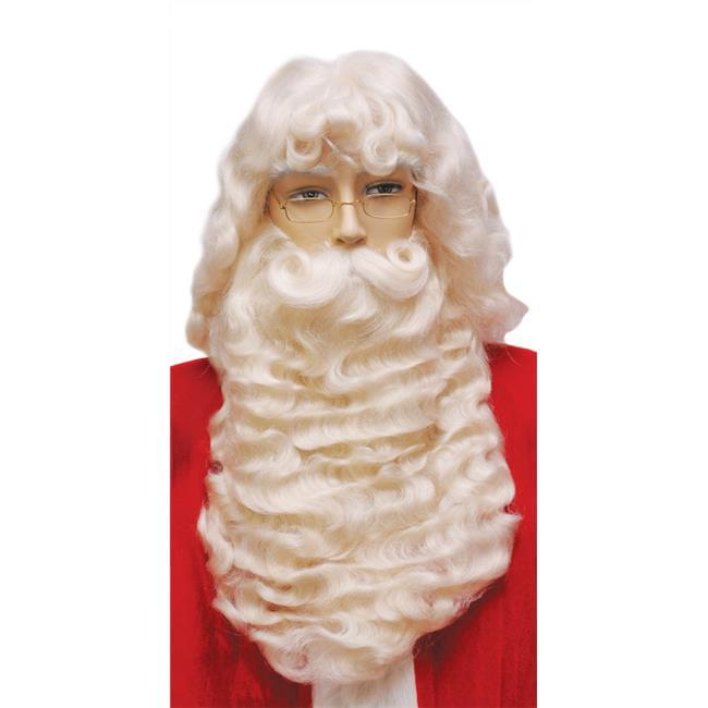 Morris LW51 Santa Set 004Ex Supreme White Wig Costume