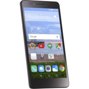 Straight Talk Huawei Sensa 16GB Prepaid Smartphone, Silver