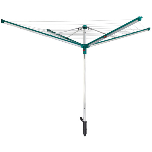 Leifheit Linomatic 500 Deluxe Outdoor Rotary Line Dryer