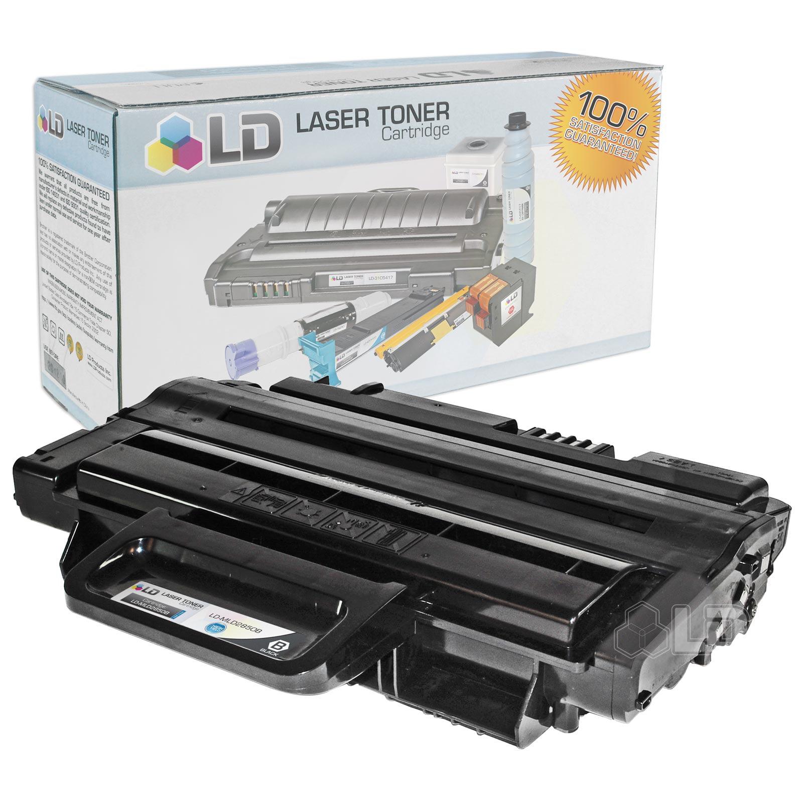 LD Compatible Samsung ML-D2850B / ML-D2850A High Yield Black Toner Cartridge for ML-2850, ML-2850D, ML-2850DR,