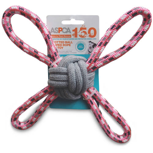 ASPCA Blue Knotted Ball Looped Rope Dog Toy by European Home Designs, LLC