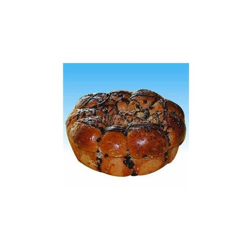 Challywood SP-52 Chocolate Coconut Pull-Apart Challah - Pack of 2
