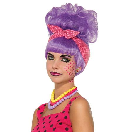Pop Art Penny Pow Wig