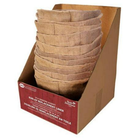 Panacea Cloth (Panacea 83502 Rustic Farmhouse Replacement Burlap Liner, 14