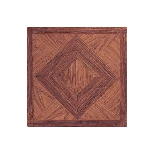 Home Dynamix Dynamix Vinyl Tile 12'' x 12'' Luxury Vinyl Tiles in Madison Woodtone