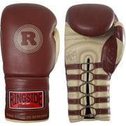 Ringside Heritage Pro Fight Gloves 8 oz Brown