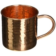 Alchemade Hammered 16 oz. Copper Mug