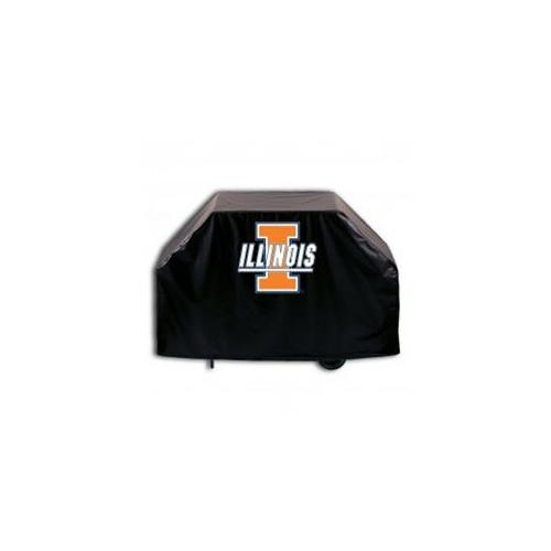 Holland Bar Stool GC72IlliniU 72 inch Illinois University Grill Cover