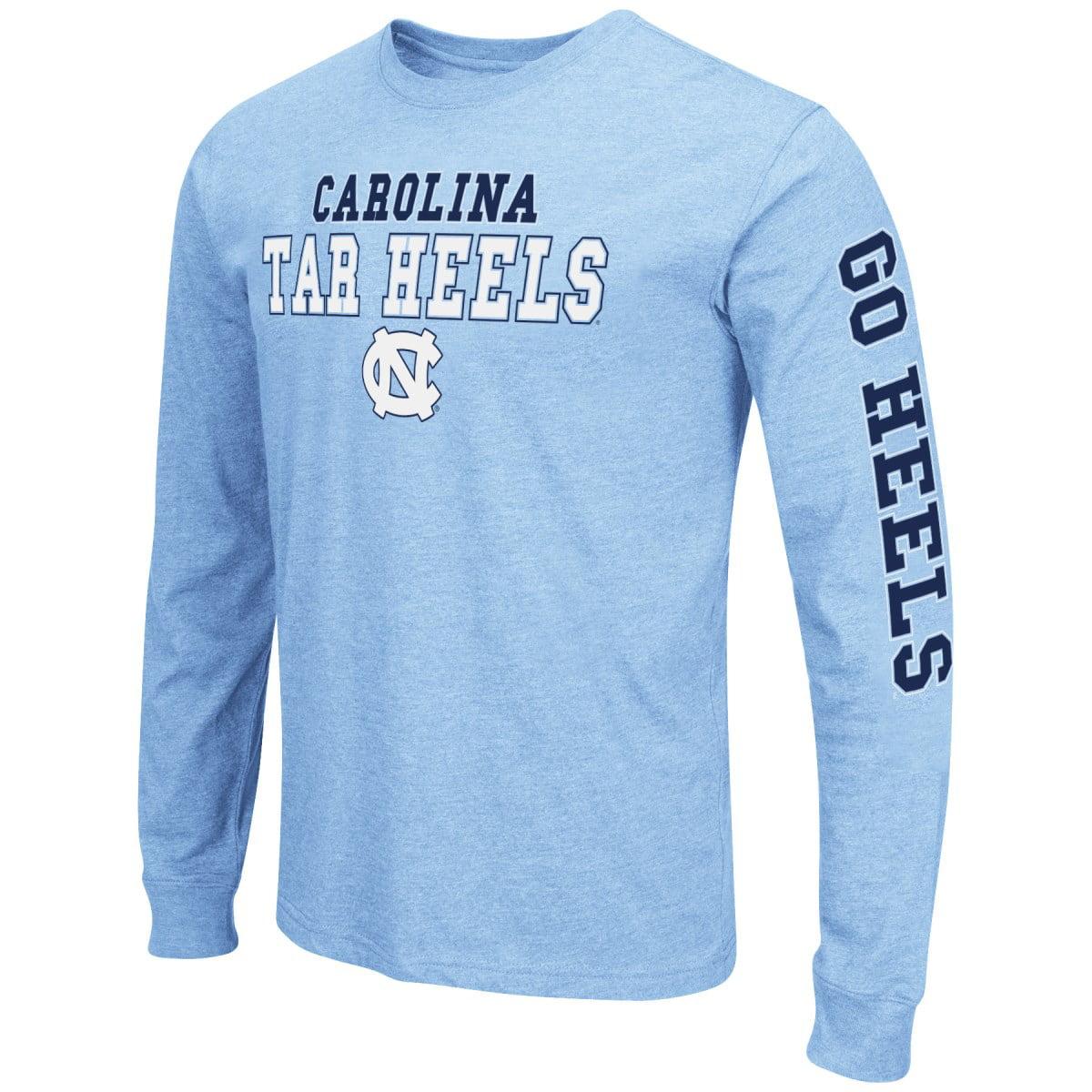 "North Carolina Tarheels NCAA ""Game Changer"" Long Sleeve Dual Blend Men's T-Shirt"