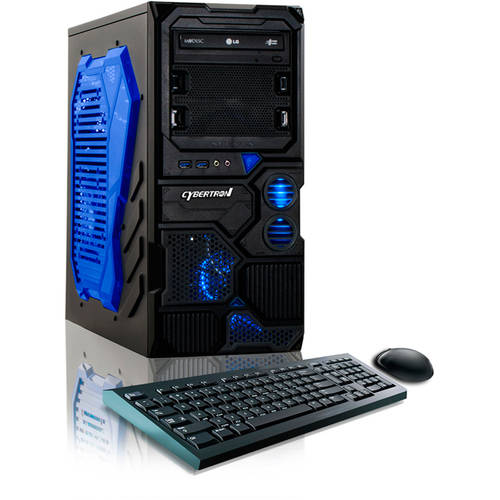 CybertronPC Borg Q-750 Desktop PC with AMD FX-4130 Quad-Core Processor,  8GB Memory, 1TB Hard Drive and  Windows 10 (Monitor Not Included)