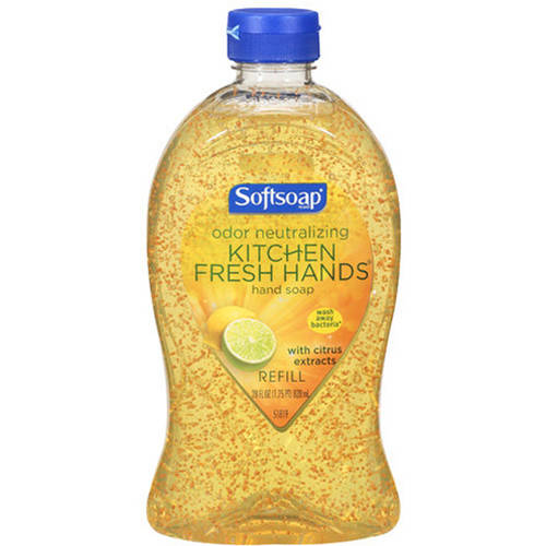 Softsoap Kitchen Fresh Citrus Hand Soap Refill, 28 oz