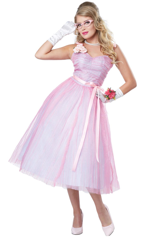 50s Teen Angel Adult Costume - Walmart.com