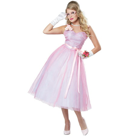 50s Teen Angel Adult Costume - Bad Angel Costumes