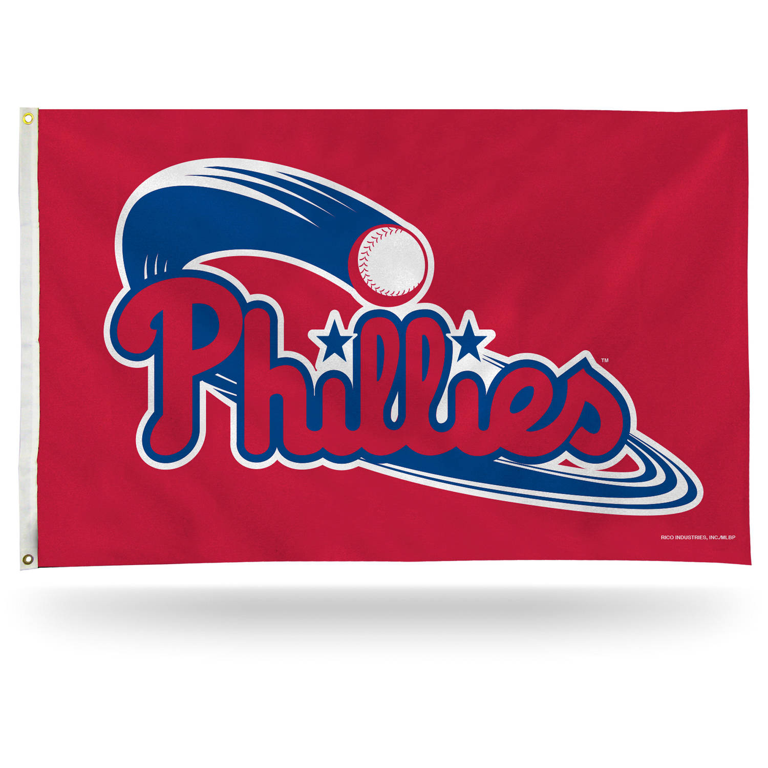 Rico Industries MLB 3' x 5' Banner Flag, Philadelphia Phillies