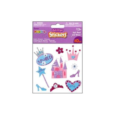Darice Foamies Sticker 3D Glitter Princess (Darice Foamies Stickers Glitter)
