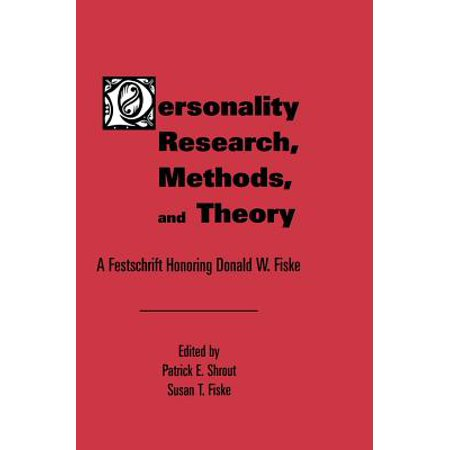 Personality Research, Methods, and Theory - eBook