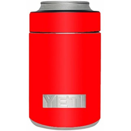 b64cc57f07d Skin Decal Vinyl Wrap for Yeti Rambler Colster Stickers Skins Cover /  Bright Red - Walmart.com