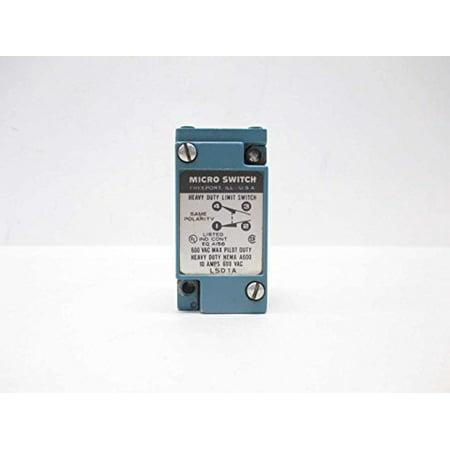 Heavy Duty Limit Switch (MICRO SWITCH LSD1A HEAVY DUTY 600V-AC 10A AMP LIMIT SWITCH D487085 )
