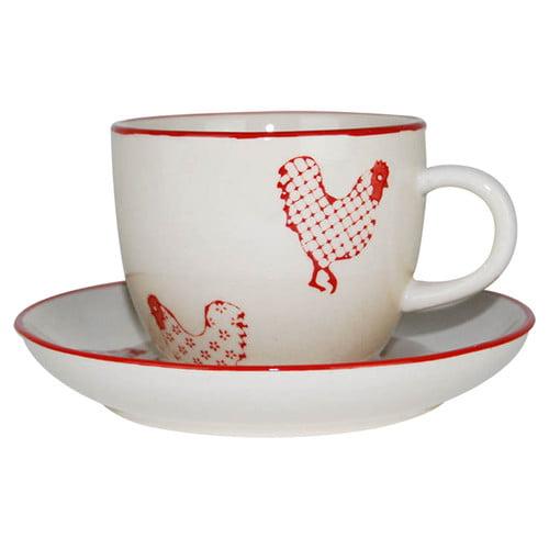 100 Essentials Barnyard Coffee Cup (Set of 6)