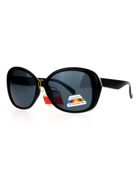 5604fd9a9f8 Product Image SA106 Antiglare Polarized Lens Oversize Butterfly Womens Sunglasses  Black