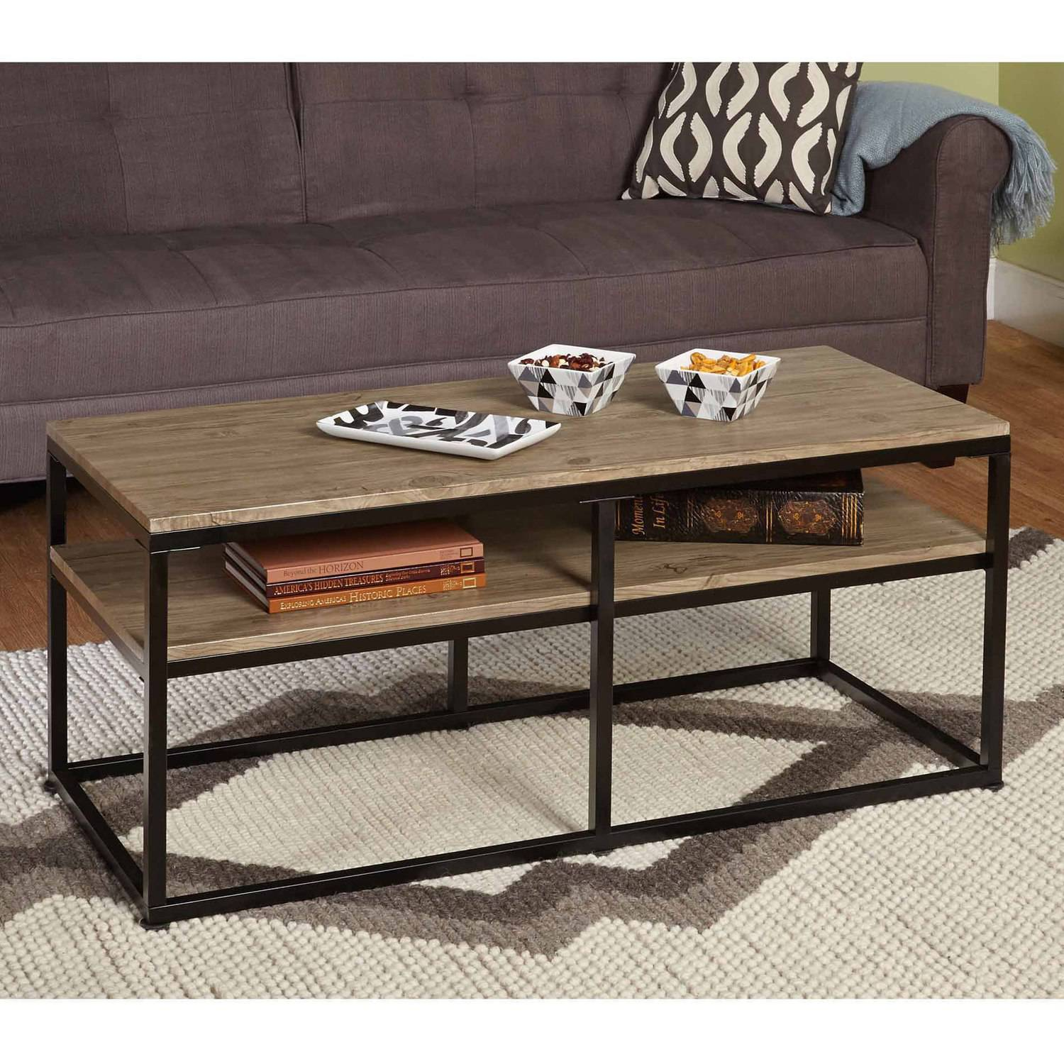 Places To Coffee Tables Vie Occasional Coffee Table 60004nat Walmartcom
