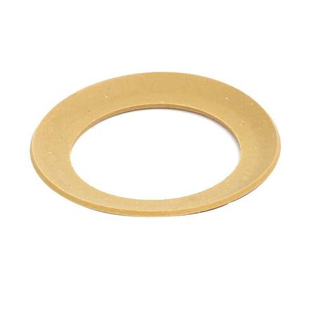 34mmx23mmx0.8mm Air Compressor Compression Piston Ring Yellow Piston Compression Rings
