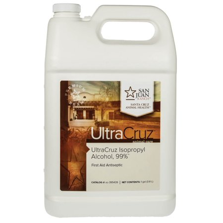 UltraCruz Isopropyl Alcohol, 99%, 1 Gallon