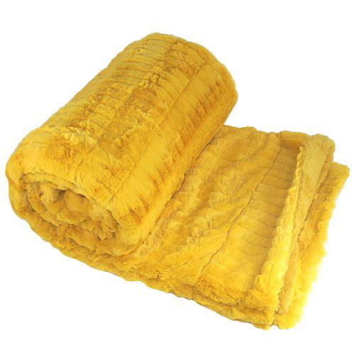 BOON Throw & Blanket Garret Faux Fur Throw Blanket