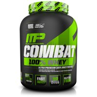 MusclePharm Combat 100% Whey Protein Powder, Cookies & Cream, 25g Protein, 5lb, 80oz