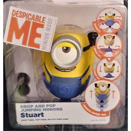 Despicable Me - Drop and Pop Jumping Minions - Stuart (Minion Character Quotes)