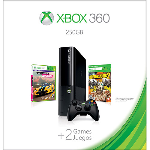 Xbox 360 E 250GB Spring Value Bundle